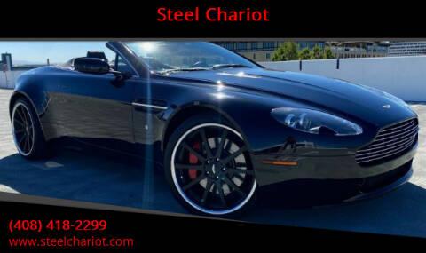 2008 Aston Martin V8 Vantage for sale at Steel Chariot in San Jose CA