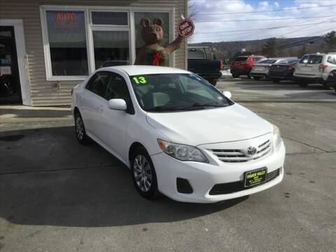 2013 Toyota Corolla for sale at SHAKER VALLEY AUTO SALES - Late Models in Enfield NH