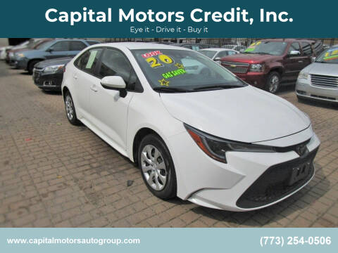 2020 Toyota Corolla for sale at Capital Motors Credit, Inc. in Chicago IL