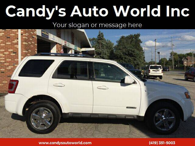 2008 Ford Escape for sale at Candy's Auto World Inc in Toledo OH
