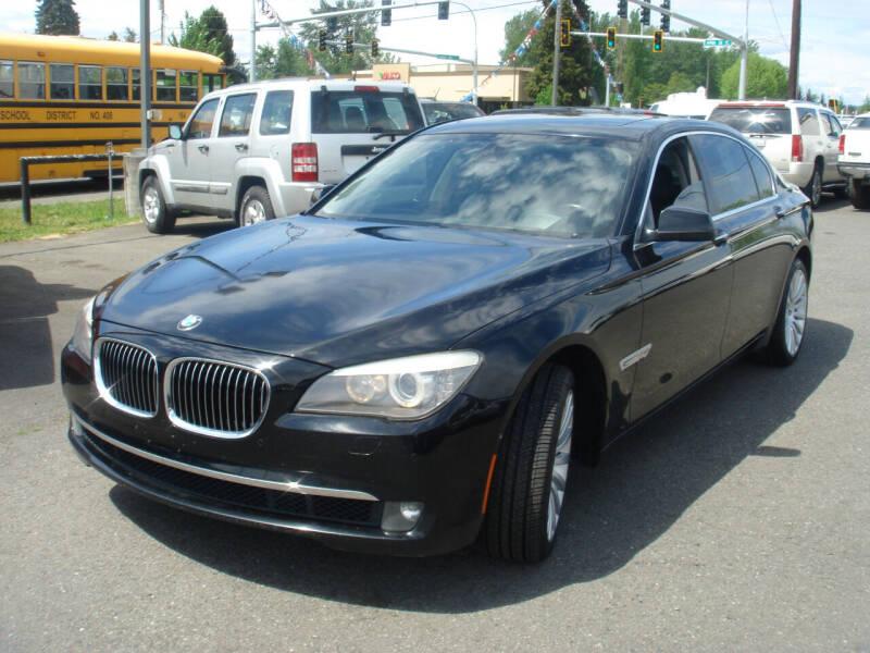 2012 BMW 7 Series for sale at Sound Auto Land LLC in Auburn WA