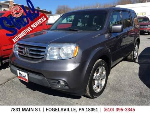 2015 Honda Pilot for sale at Strohl Automotive Services in Fogelsville PA