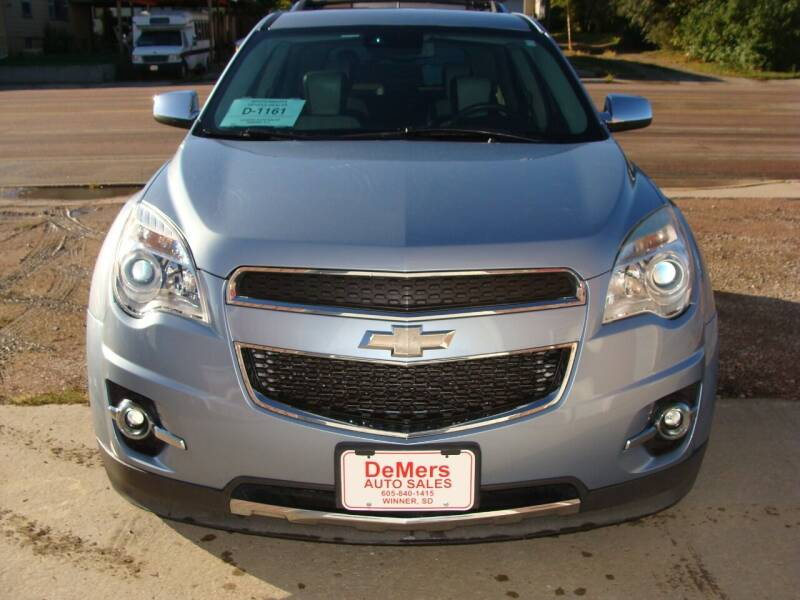 2014 Chevrolet Equinox for sale at DeMers Auto Sales in Winner SD