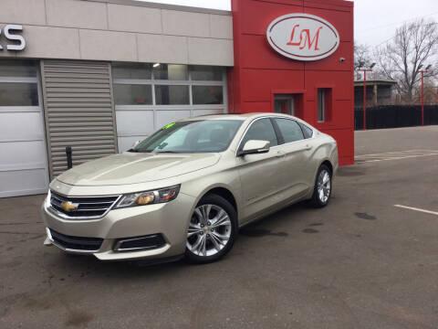 2014 Chevrolet Impala for sale at Legend Motors of Waterford - Legend Motors of Detroit in Detroit MI