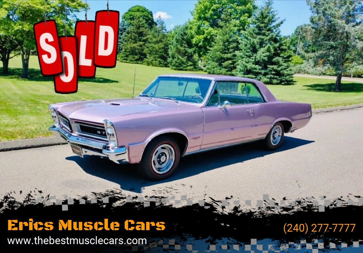 1965 Pontiac GTO SOLD SOLD SOLD