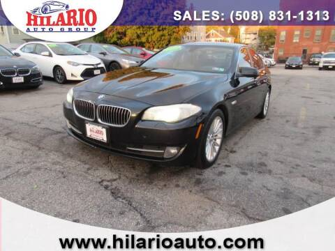 2013 BMW 5 Series for sale at Hilario's Auto Sales in Worcester MA
