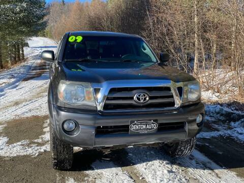 2009 Toyota Tacoma for sale at Denton Auto Inc in Craftsbury VT