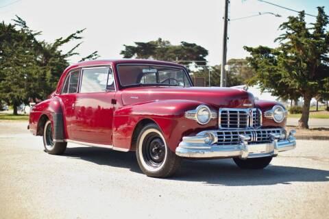 1947 Lincoln Continental for sale at Dodi Auto Sales in Monterey CA