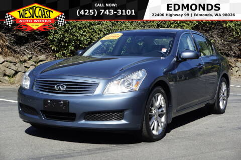 2008 Infiniti G35 for sale at West Coast Auto Works in Edmonds WA