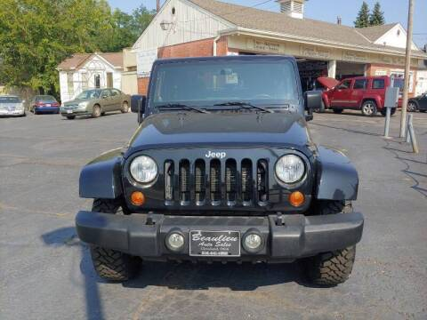 2012 Jeep Wrangler for sale at Beaulieu Auto Sales in Cleveland OH