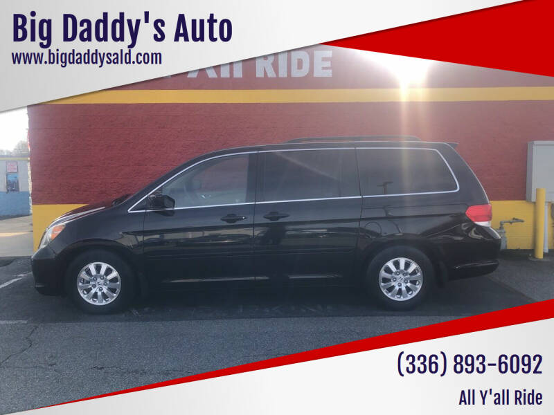 2009 Honda Odyssey for sale at Big Daddy's Auto in Winston-Salem NC