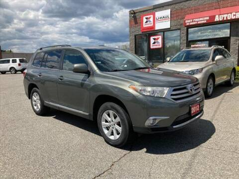 2012 Toyota Highlander for sale at AutoCredit SuperStore in Lowell MA