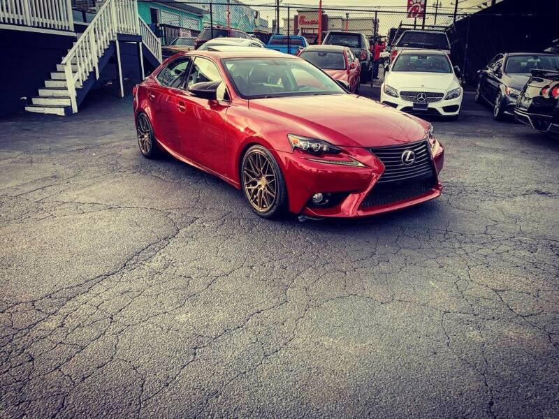 2014 Lexus IS 250 for sale at First Union Auto in Seattle WA