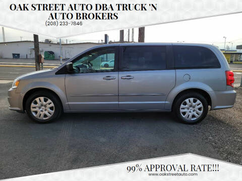 2014 Dodge Grand Caravan for sale at Oak Street Auto DBA Truck 'N Auto Brokers in Pocatello ID