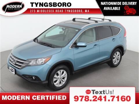 2014 Honda CR-V for sale at Modern Auto Sales in Tyngsboro MA