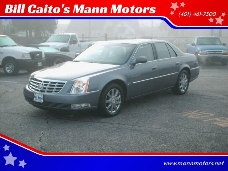 2008 Cadillac DTS for sale at Bill Caito's Mann Motors in Warwick RI