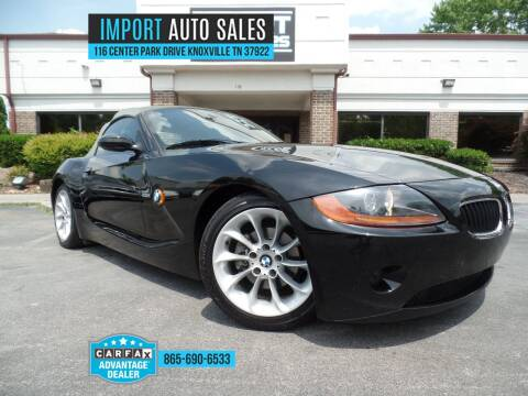 2003 BMW Z4 for sale at IMPORT AUTO SALES in Knoxville TN