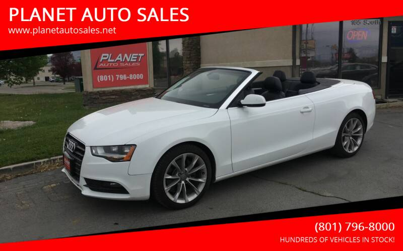 2013 Audi A5 for sale at PLANET AUTO SALES in Lindon UT
