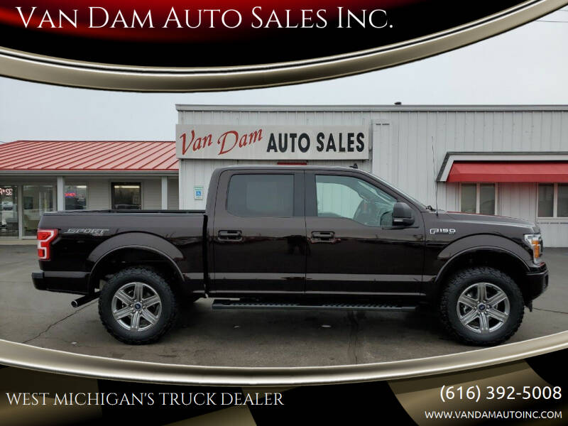 2020 Ford F-150 for sale at Van Dam Auto Sales Inc. in Holland MI