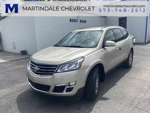 2017 Chevrolet Traverse for sale at MARTINDALE CHEVROLET in New Madrid MO