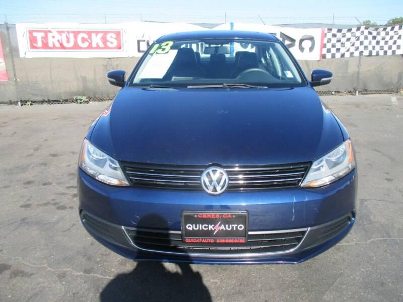 2013 Volkswagen Jetta for sale at Quick Auto Sales in Modesto CA