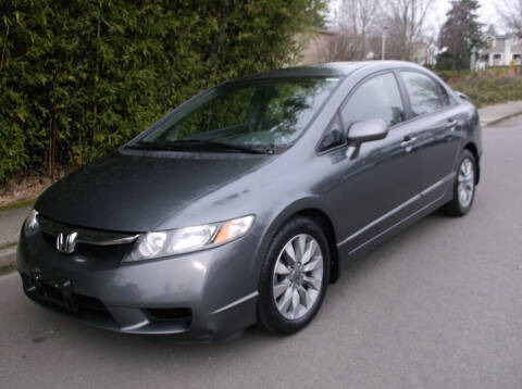 2009 Honda Civic for sale at Eastside Motor Company in Kirkland WA