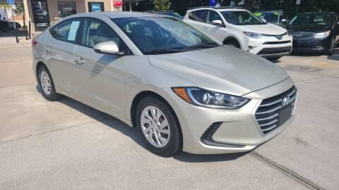 2017 Hyundai Elantra for sale at Dunn-Rite Auto Group in Longwood FL