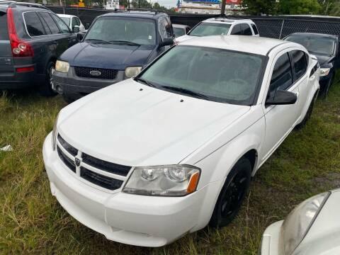 2009 Dodge Avenger for sale at Florida Prestige Collection in Saint Petersburg FL