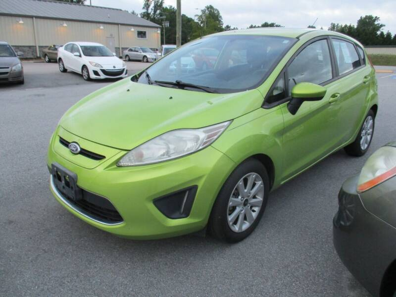2011 Ford Fiesta for sale at Creech Auto Sales in Garner NC