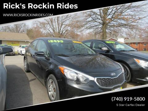2016 Kia Forte for sale at Rick's Rockin Rides in Reynoldsburg OH