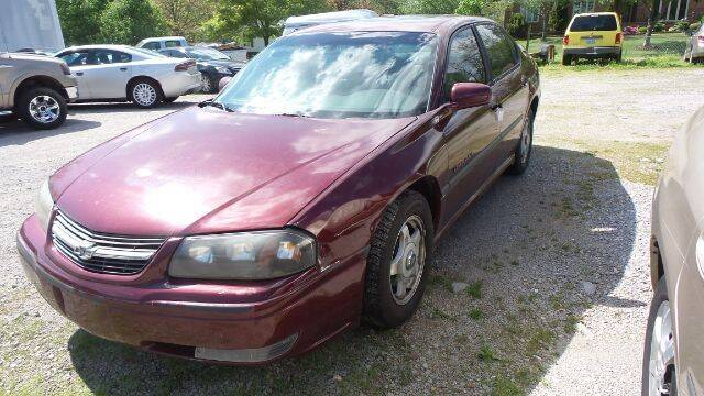 2001 Chevrolet Impala for sale at Tates Creek Motors KY in Nicholasville KY
