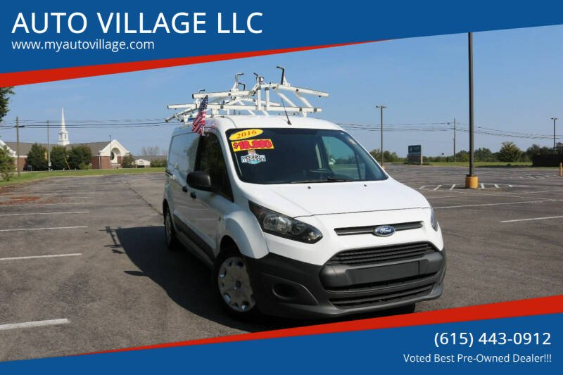 2016 Ford Transit Connect Cargo for sale at AUTO VILLAGE LLC in Lebanon TN