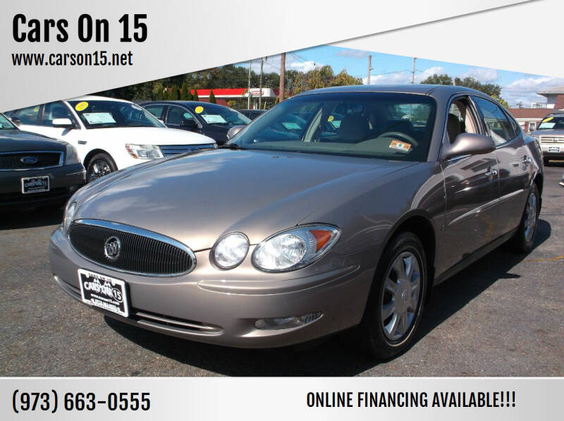 2006 Buick LaCrosse for sale at Cars On 15 in Lake Hopatcong NJ