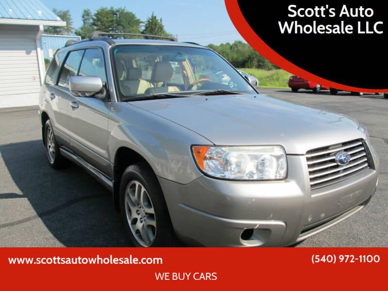 2005 Subaru Forester for sale at Scott's Auto Wholesale LLC in Locust Grove VA