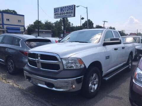 2016 RAM Ram Pickup 1500 for sale at Bay Motors Inc in Baltimore MD