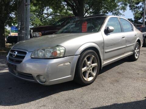 2003 Nissan Maxima for sale at Deleon Mich Auto Sales in Yonkers NY
