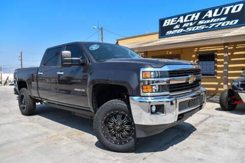 2015 Chevrolet Silverado 2500HD for sale at Beach Auto and RV Sales in Lake Havasu City AZ
