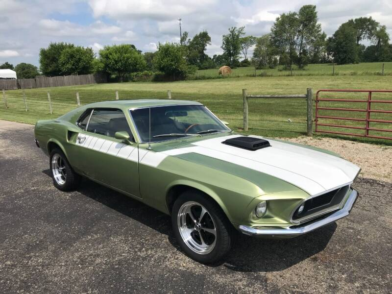 1969 Ford Mustang for sale at 500 CLASSIC AUTO SALES in Knightstown IN