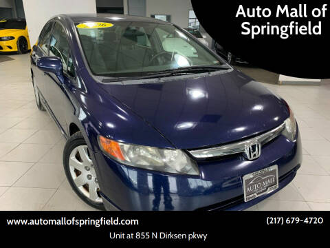2006 Honda Civic for sale at Auto Mall of Springfield north in Springfield IL