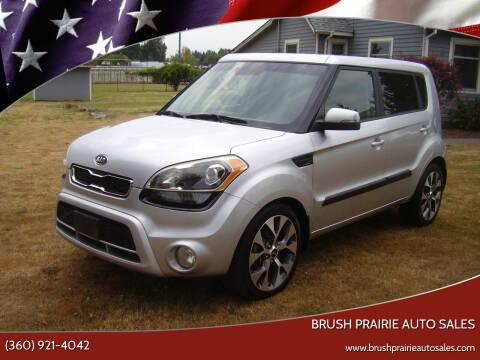 2012 Kia Soul for sale at Brush Prairie Auto Sales in Battle Ground WA
