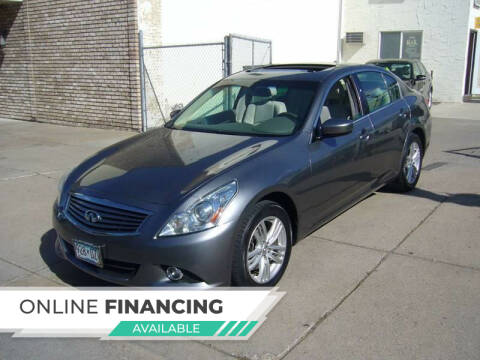 2011 Infiniti G25 Sedan for sale at K & L Auto Sales in Saint Paul MN