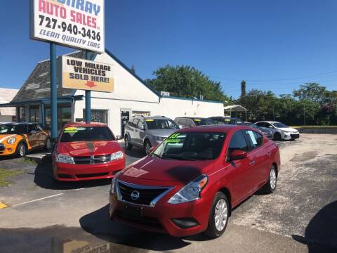 2015 Nissan Versa for sale at Sunray Auto Sales Inc. in Holiday FL