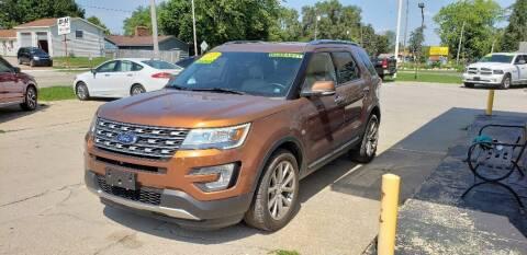 2017 Ford Explorer for sale at Clare Auto Sales, Inc. in Clare MI