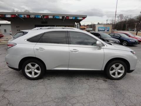 2015 Lexus RX 350 for sale at HAPPY TRAILS AUTO SALES LLC in Taylors SC