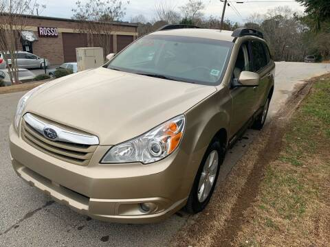 2010 Subaru Outback for sale at CAR STOP INC in Duluth GA