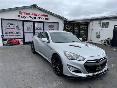 2016 Hyundai Genesis Coupe for sale at Speed Auto Sales in El Cajon CA