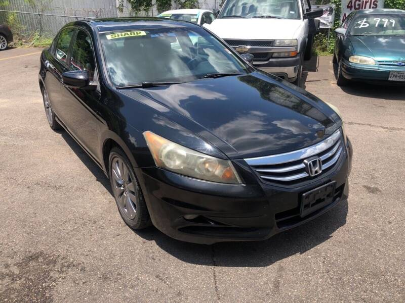 2011 Honda Accord for sale at 4 Girls Auto Sales in Houston TX