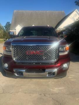 2016 GMC Sierra 2500HD for sale at Gralin Hampton Auto Sales in Summerville SC