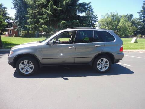 2005 BMW X5 for sale at TONY'S AUTO WORLD in Portland OR