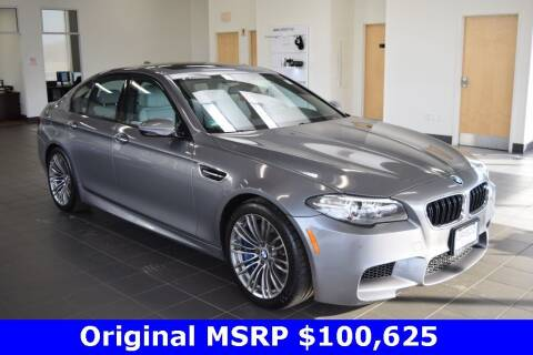 2014 BMW M5 for sale at BMW OF NEWPORT in Middletown RI